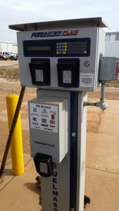 The Fuelmaster card reading system and the many cards that are accepted there.