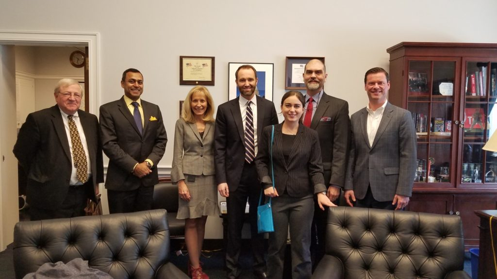a TEP contingent and some Tennessee companies (including VW) meet with Congressman Chuck Fleischmann's office (R, TN, 3rd District); he is the Vice Chair of the above mentioned House Energy & Water Subcomittee.