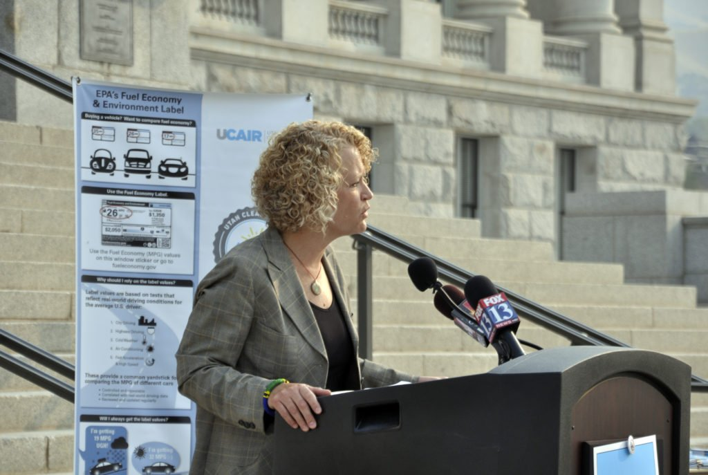 Salt Lake City Mayor Jackie Biskupski provided the keynote address during the 10-year anniversary event.