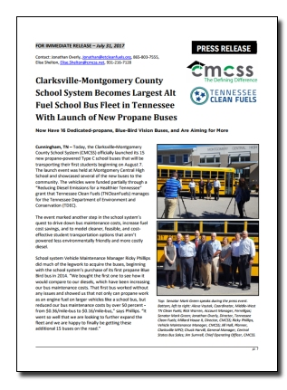 CMCSS Press Release - 7-31-17