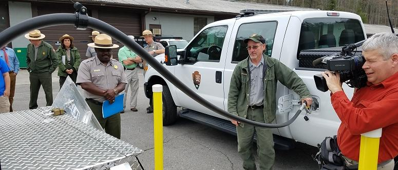 GRSM propane trucks